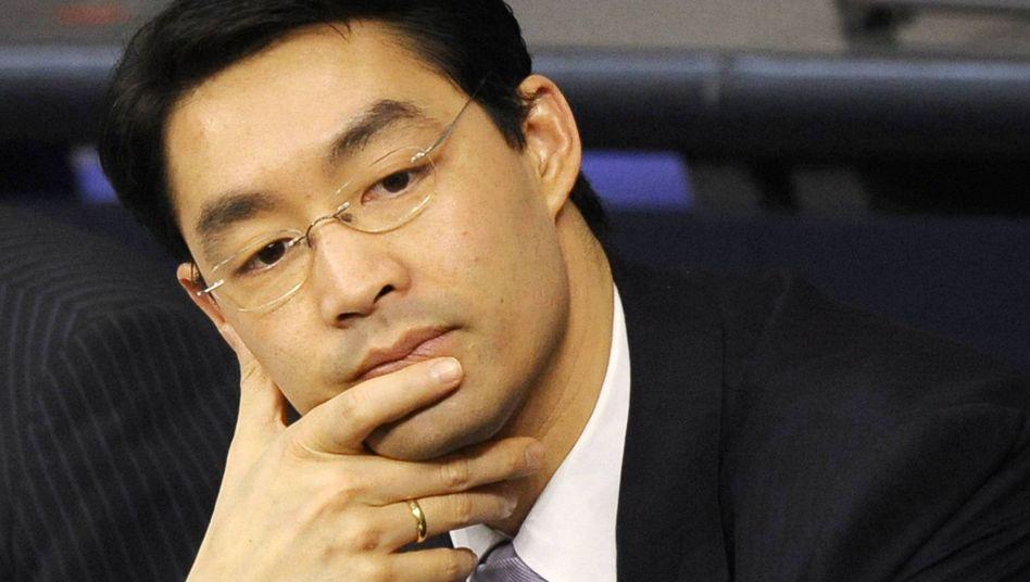 """Liberaler Gesundheitsminister Rösler: """"Empört"""" über Vorgehen der CSU"""