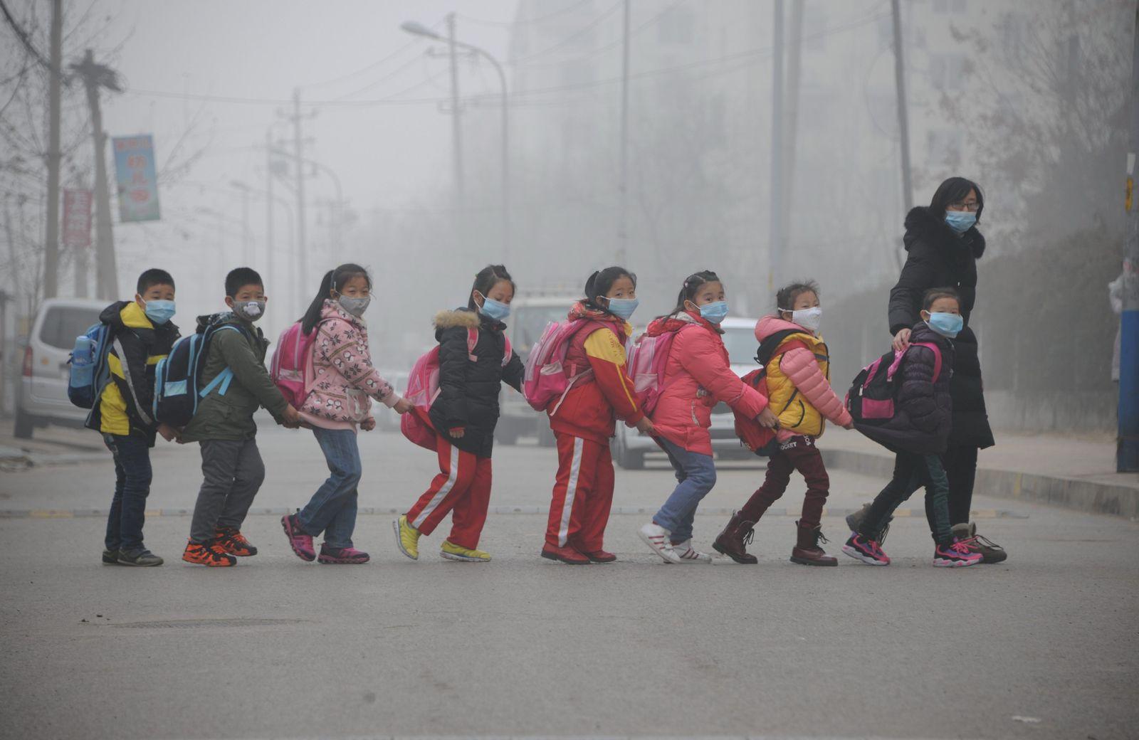 Luftverschmutzung/ China/