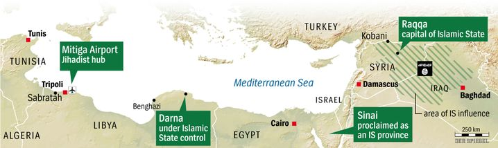 Map: Islamic State's Growing Sphere of Influence