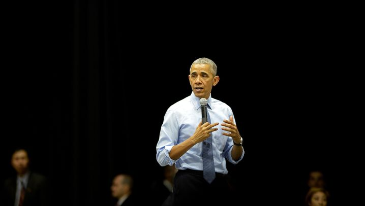 Obama bei G7 und G8-Treffen: Handshakes, Bier und Blicke
