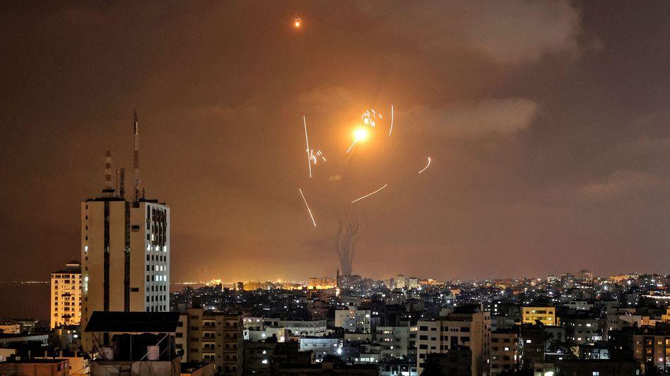 Raketenabwehrsystem »Eiserne Kuppel« fängt Geschosse aus dem Gazastreifen ab