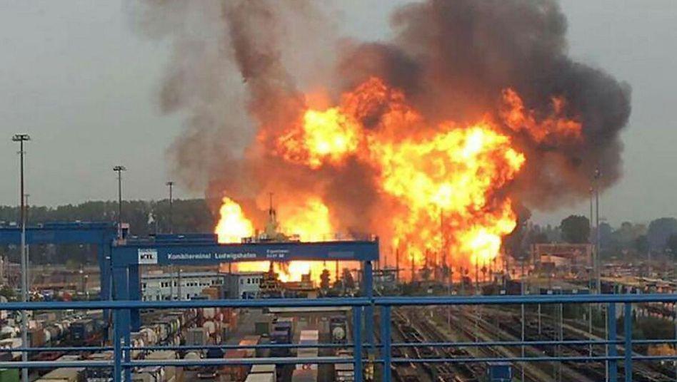Fünf Menschen starben bei der Explosion auf dem BASF-Gelände