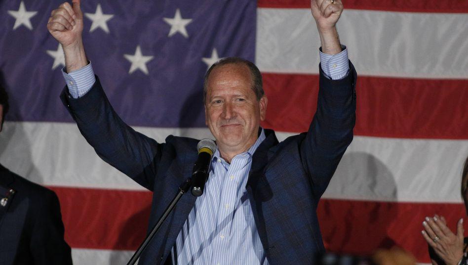 Republikaner Dan Bishop: Knapper Sieg in North Carolina