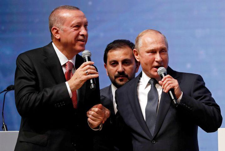 Partner Putin und Erdogan