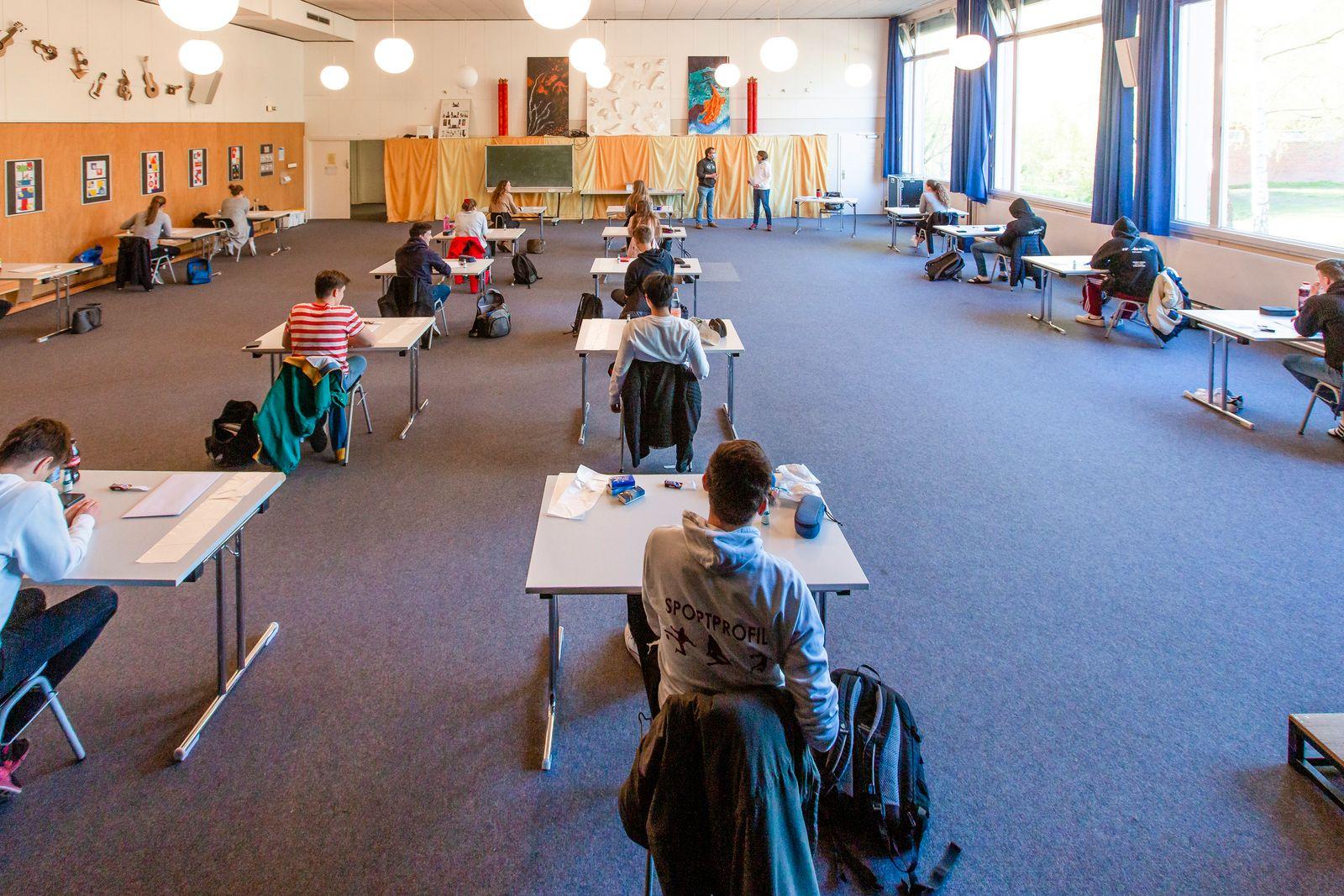 Coronavirus - Abitur in Kiel