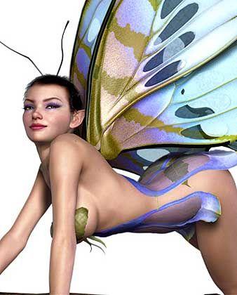 Schmetterling Dawn: 1,67 Meter groß, haselnussbraune Augen