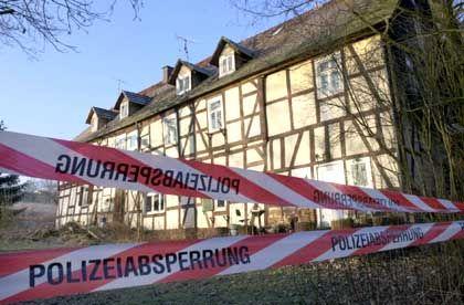 Tiefgefrorenes Menschenfleisch: Das Haus des mutmaßlichen Kannibalen in Rotenburg