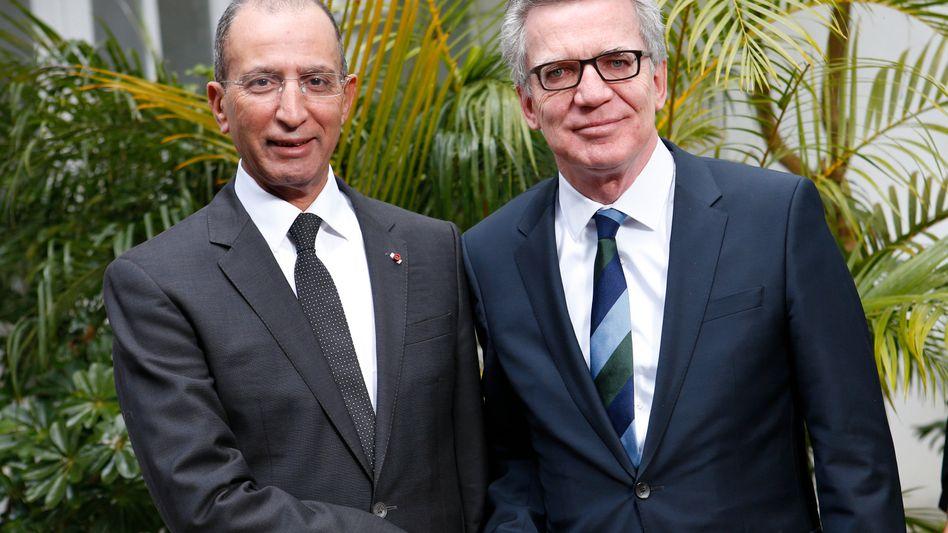 Marokkos Innenminister Hassad, Innenminister de Maizière