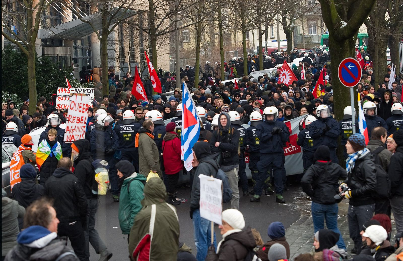 Dresden / Neonazi-Aufmarsch