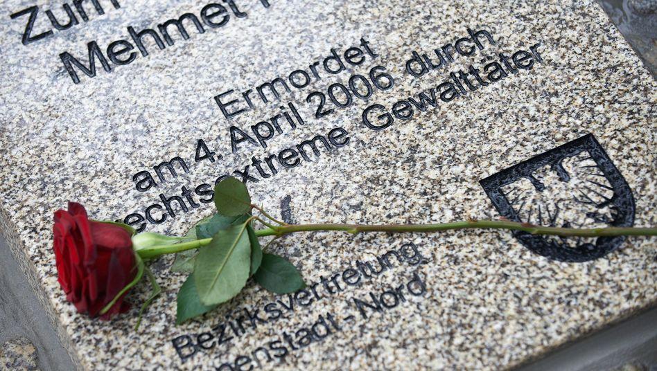 Gedenkstein für den ermordeten Mehmet Kubasik in Dortmund