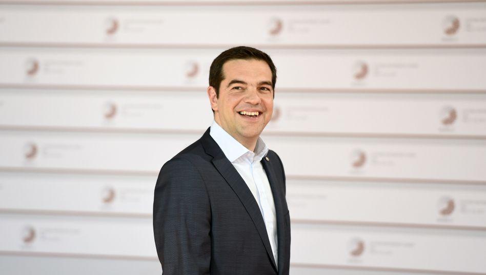 Alexis Tsipras: Der griechische Premier könnte am Ende als Sieger dastehen