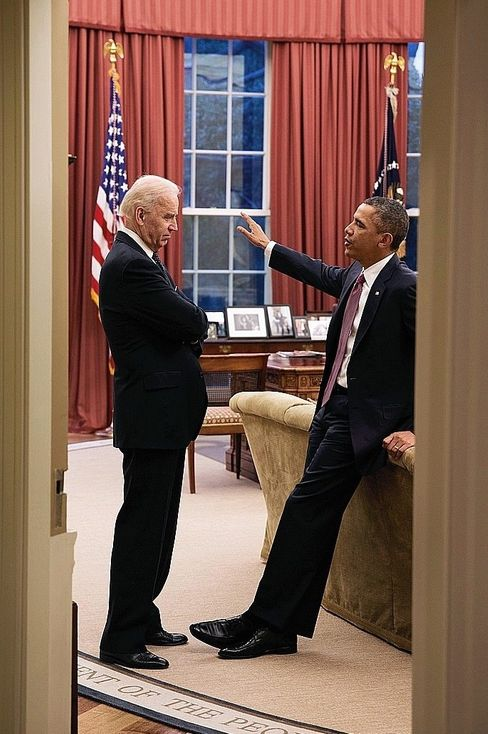 Fellow Democrats Joe Biden and Barack Obama in 2013: The new president has learned from the mistakes of his former boss.