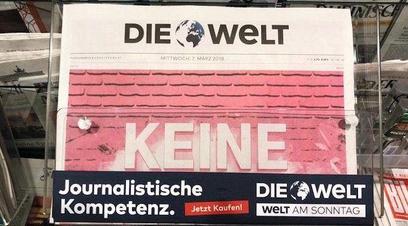 Auslage in einer Koblenzer Bahnhofsbuchhandlung
