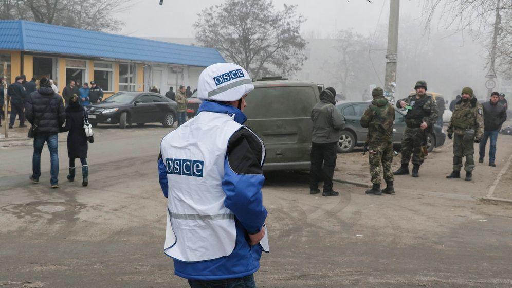 OSZE-Mission: Riskanter Auftrag in der Ostukraine