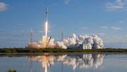 Falcon 9-Rakete stürzt ins Meer