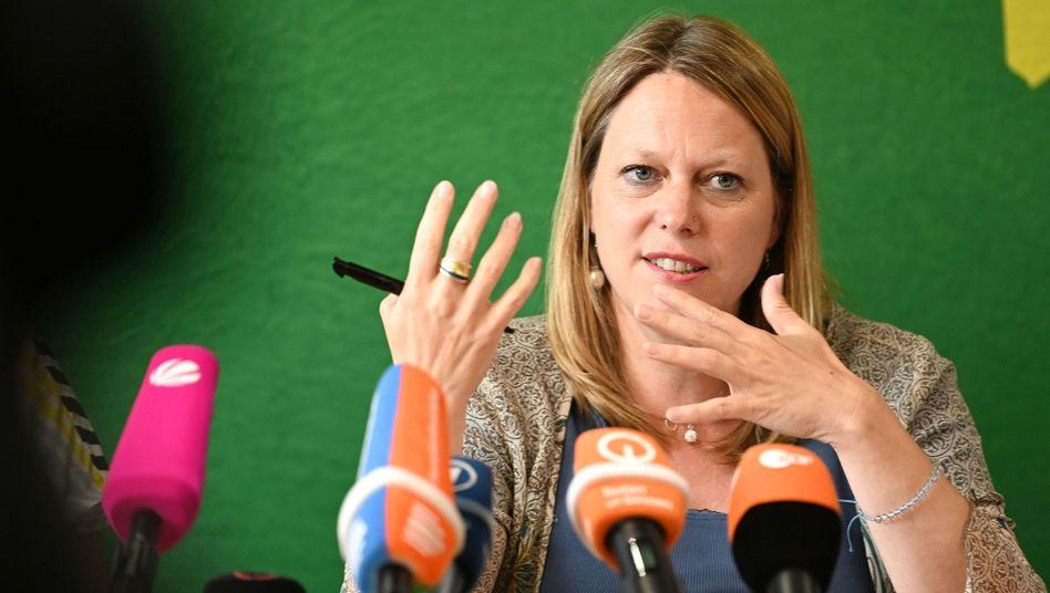 Maike Schaefer, Spitzenkandidatin der Grünen