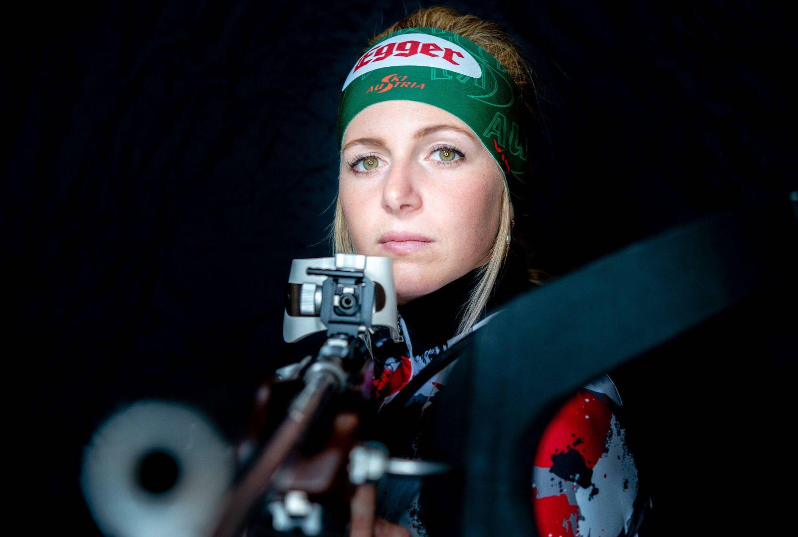 Sport Bilder des Tages 24.10.2020, Reith bei Kitzbuehel, AUT, Lisa Theresa Hauser im Portrait, im Bild die Oesterreichis