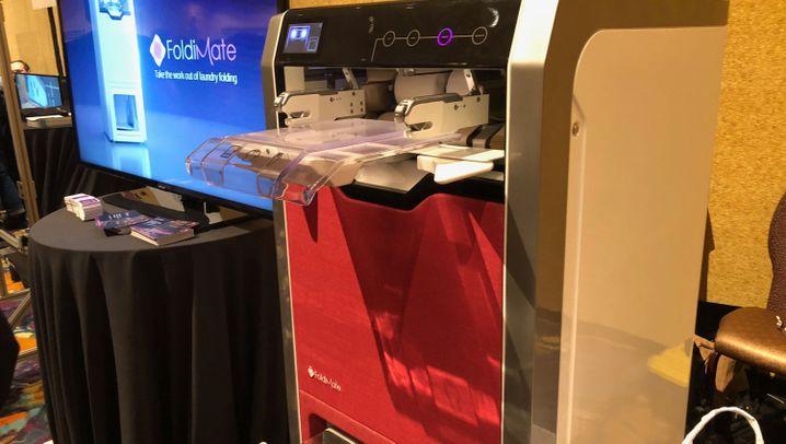 Faltroboter, Karaoke-Maschine, Mülleimer: CES-Gadgets für Bequeme