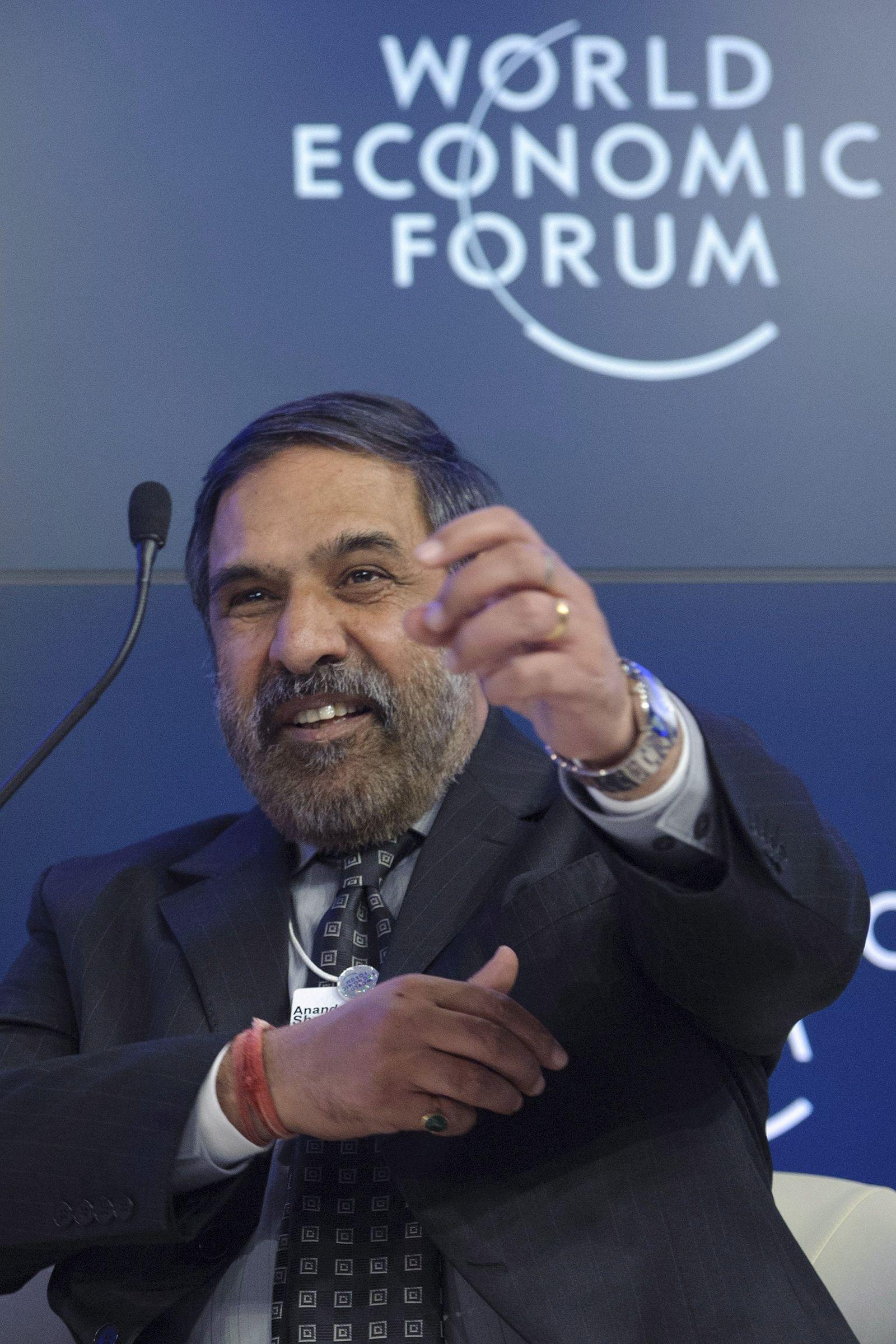 Weltwirtschaftsforum/Davos /Anand Sharma