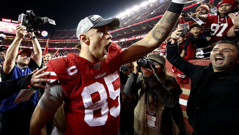 George Kittle ist der Star der San Francisco 49ers