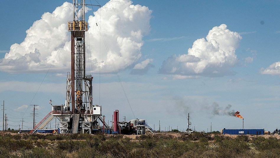 Öl- und Gasfeld südlich von Carlsbad