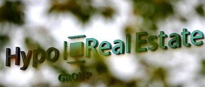 Das Logo der Hypo Real Estate: Enteignung, um grundlegende Sanierung des Instituts zu sichern