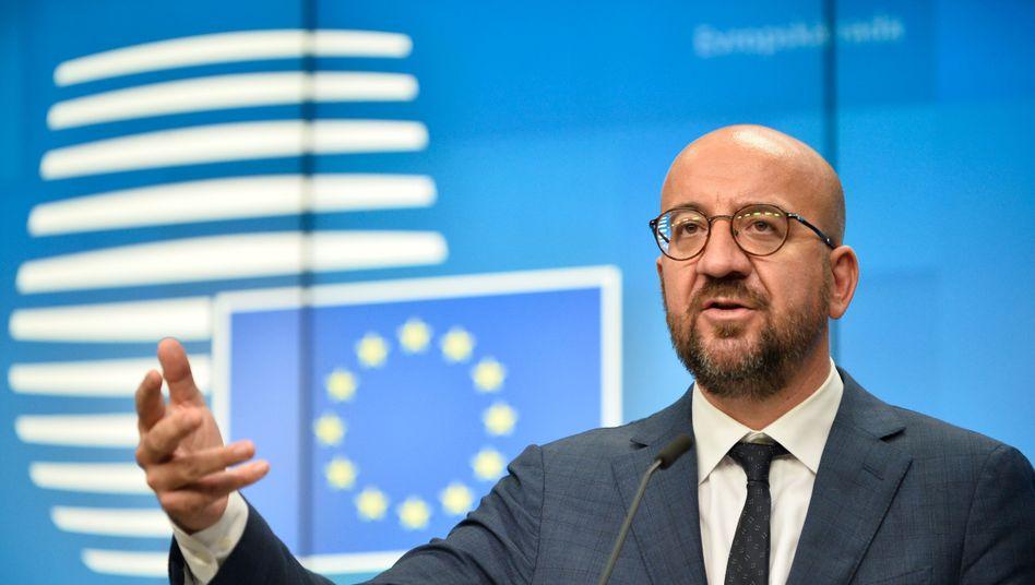 EU-Ratspräsident Michel: Ende eines schwierigen Gipfeltreffens