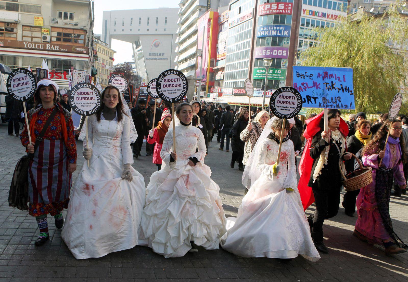 Türkei/ Gleichberechtigung/ Hochzeiten