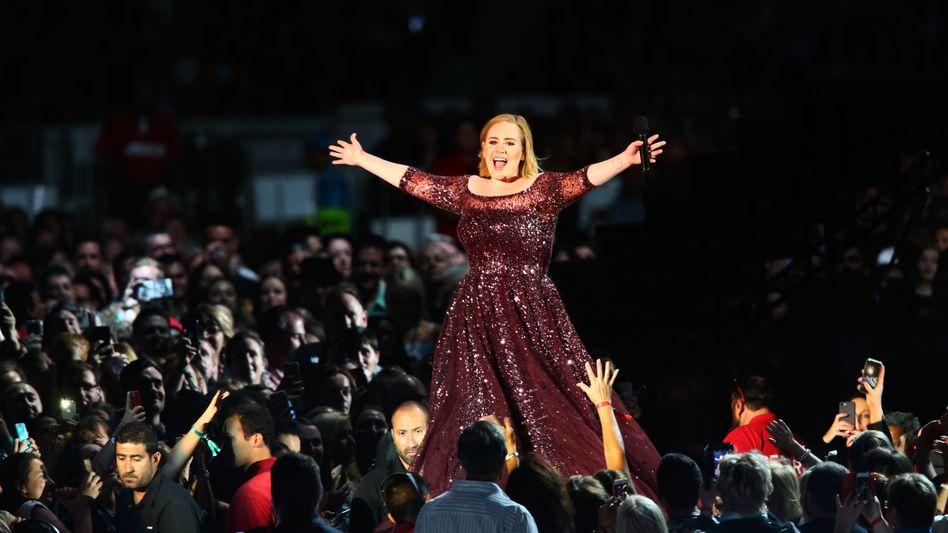 Adele auf ihrer aktuellen Tournee
