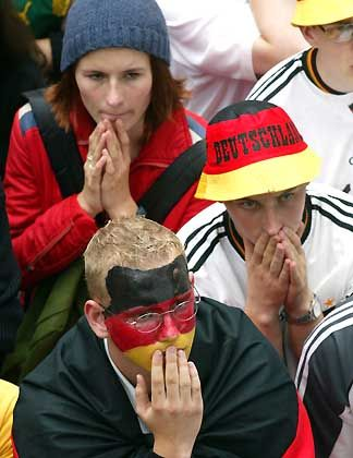 Germany is convinced that it's national football team, and everything else in the country, is terrible.