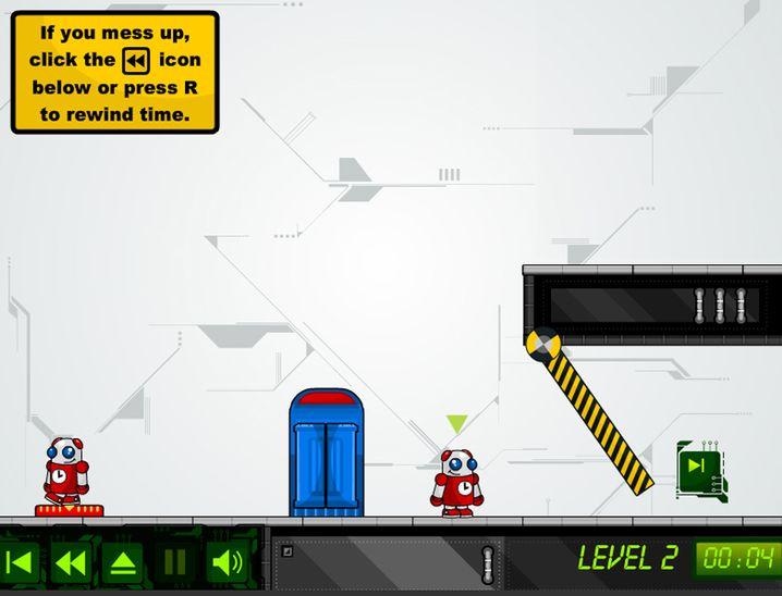 Game Screenshot - Chronotron