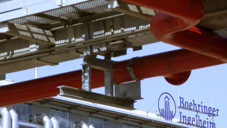 Firmengelände von Boehringer Ingelheim (Archivbild): 1000 Jobs sollen wegfallen