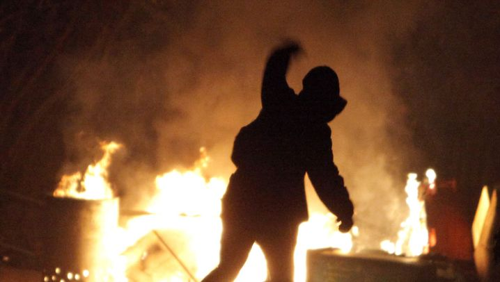 Photo Gallery: Riots Outside Climate Summit