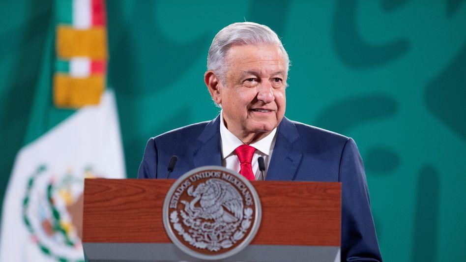 Mexikos Präsident Andrés Manuel López Obrador will laut eigener Aussage Folter unterbinden (Archivbild)