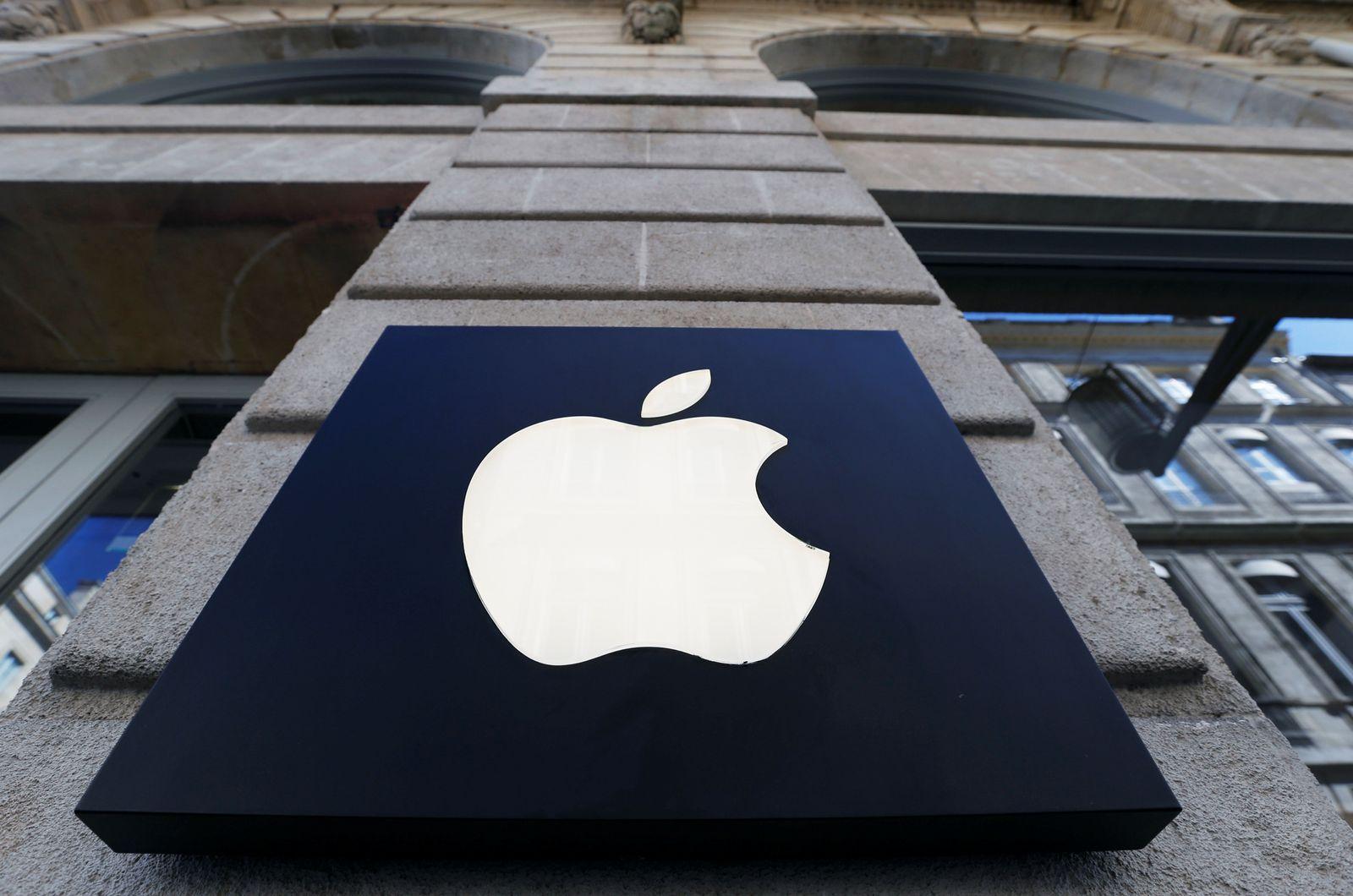 Apple/ Bordeaux/ Logo