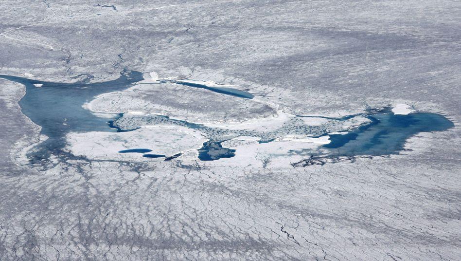 """Inlandeis von Grönland: """"Der Gletscher ist sehr sensibel."""""""