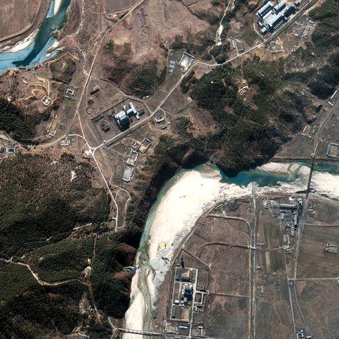 Nuklearanlage Yongbyon: Am Freitag soll der Kühlturm gesprengt werden