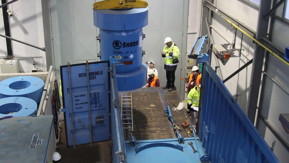 Uran-Transport aus Tschechien nach Russland: Zurück zum Absender