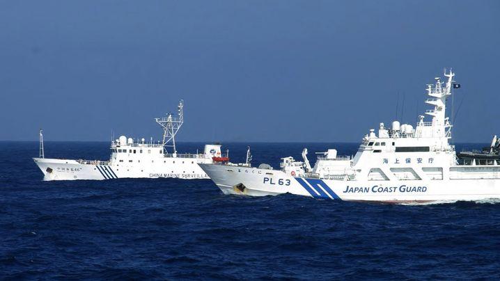 Konflikt zwischen Japan und China: Schwerer Zwischenfall auf hoher See