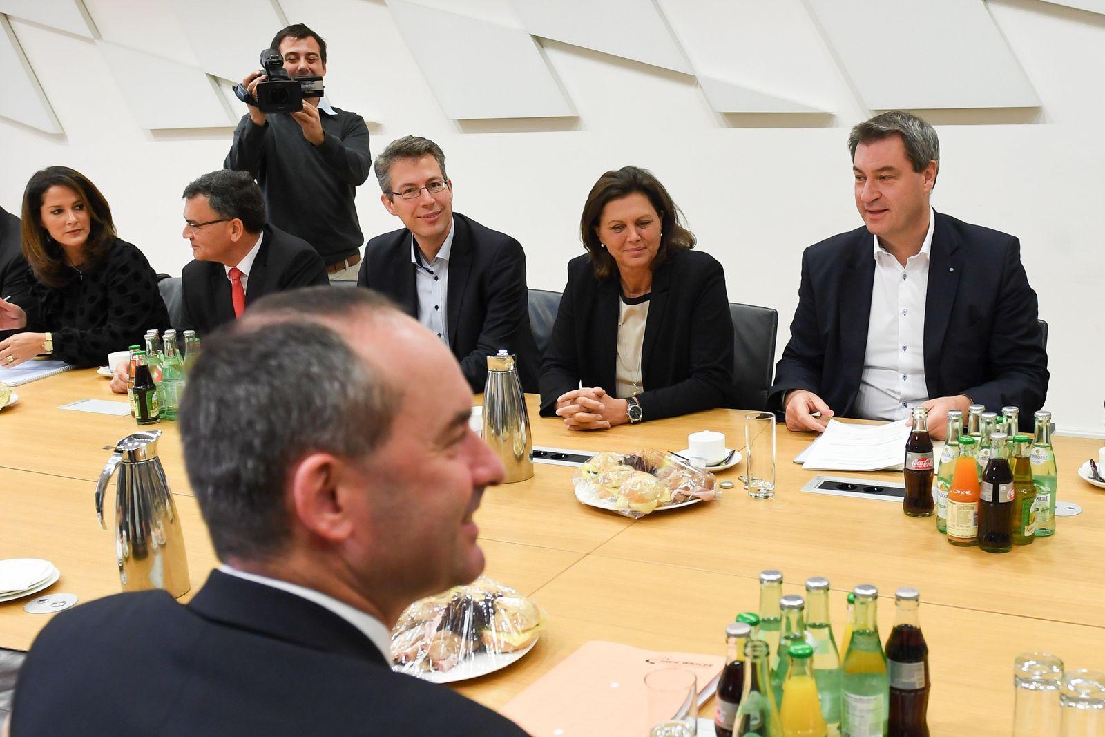 Koalitionsverhandlungen CSU und Freie Wähler
