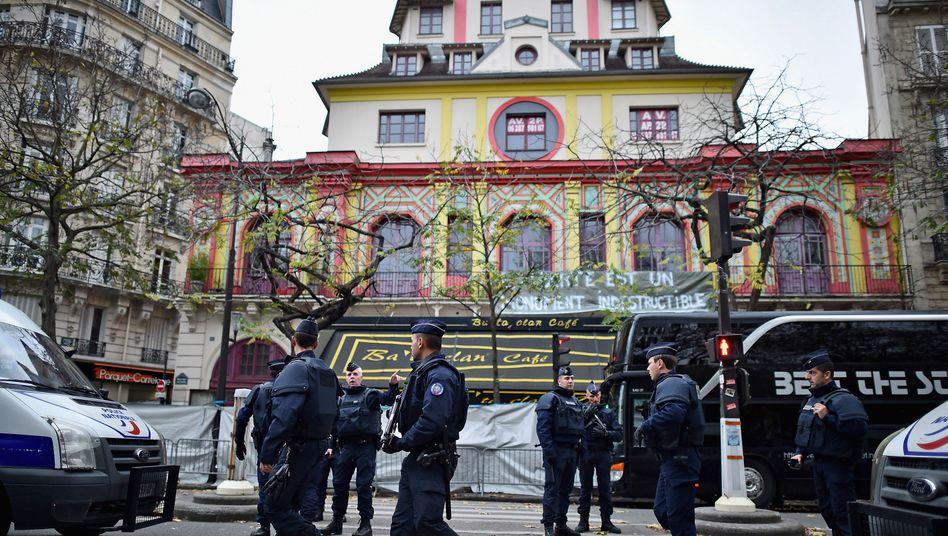 """Polizisten vor dem Bataclan: """"Extrem erfahren"""""""