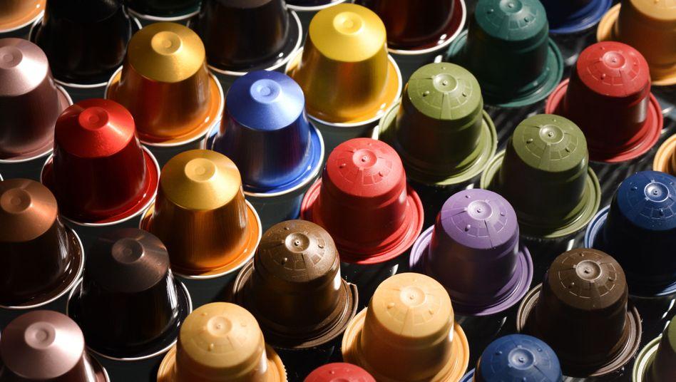 Kaffeekapseln in allen Farben: Gerade Single-Haushalte kaufen Kaffee in Einzelportionen