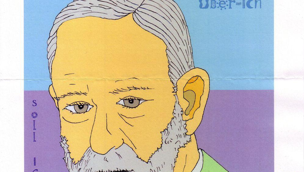 Mail Art: Schrille Post für Sigmund Freud