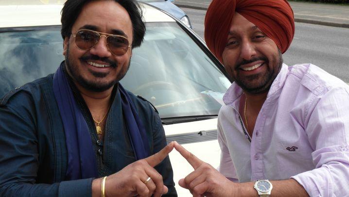 "Die ""Bhangu-Brothers"": Taxifahrer mit Bollywood-Ader"