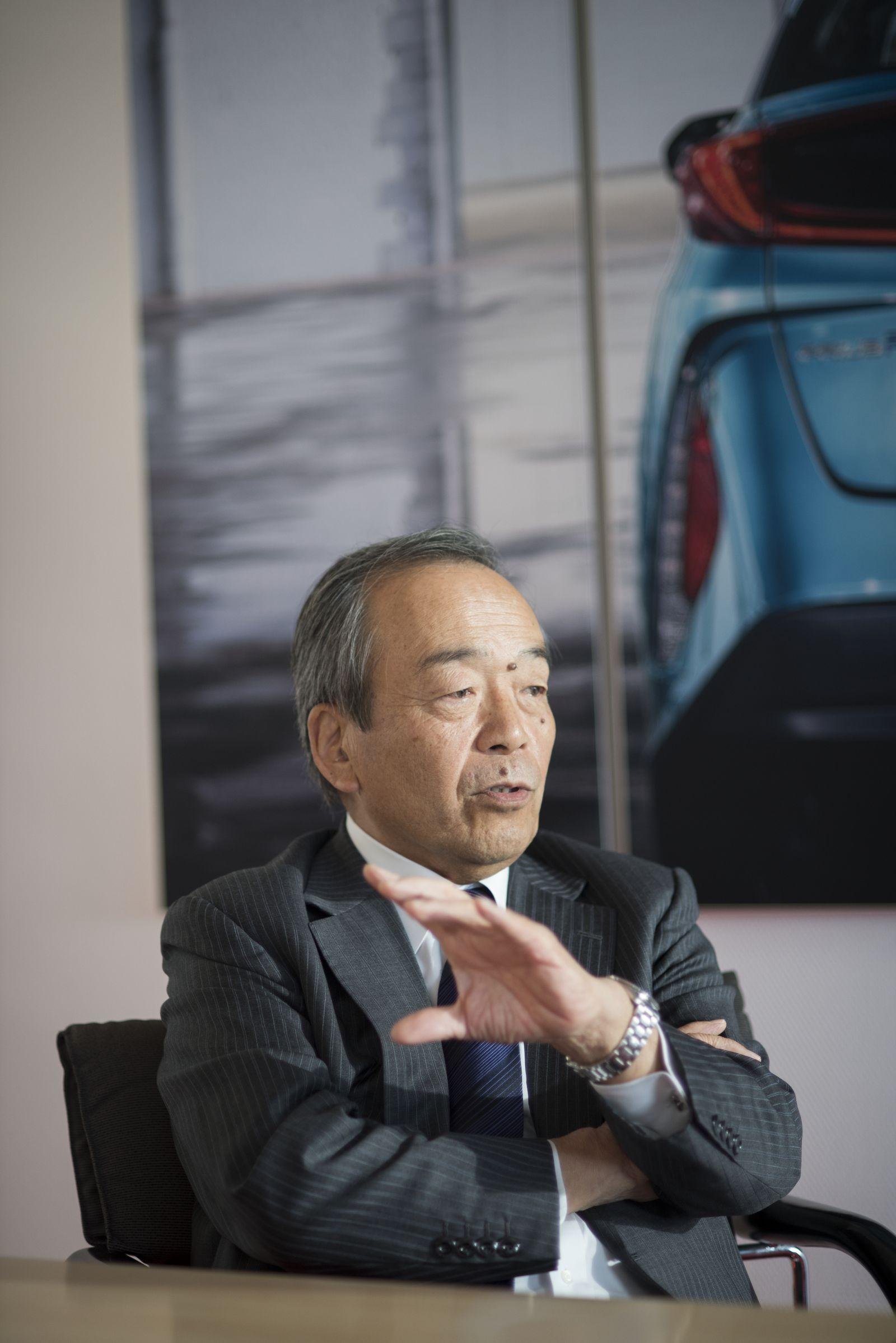 EINMALIGE VERWENDUNG SPIEGEL Plus SPIEGEL 47/2017 S.114 Toyota-Aufsichtsrat STARTBILD