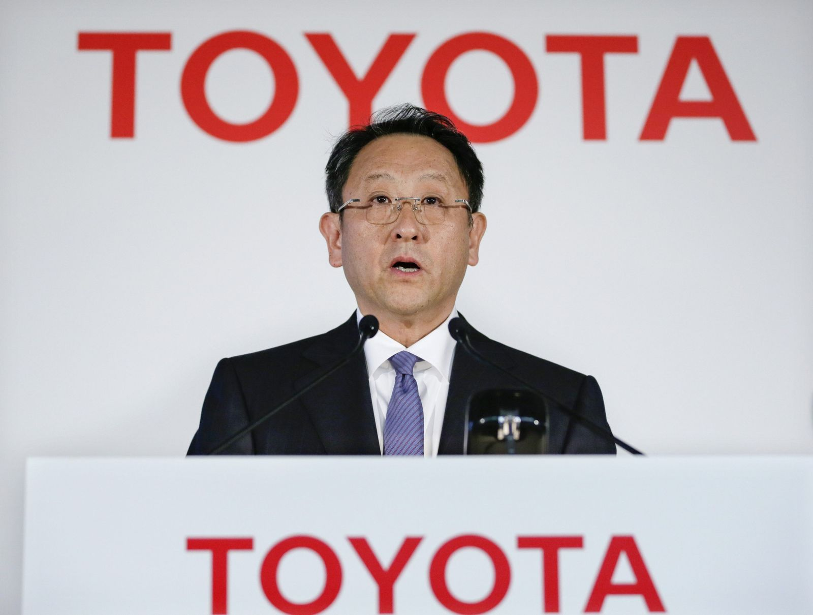 Toyota Motor Corp announces 2013 fiscal year earnings
