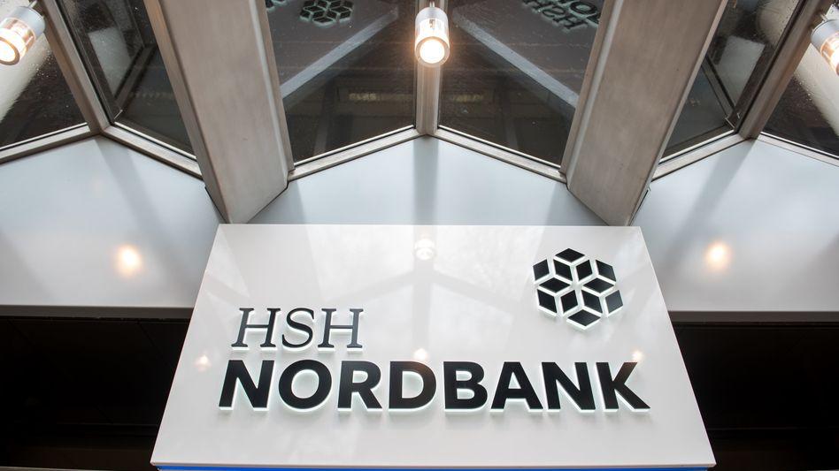 Eingangsbereich der HSH Nordbank in Hamburg