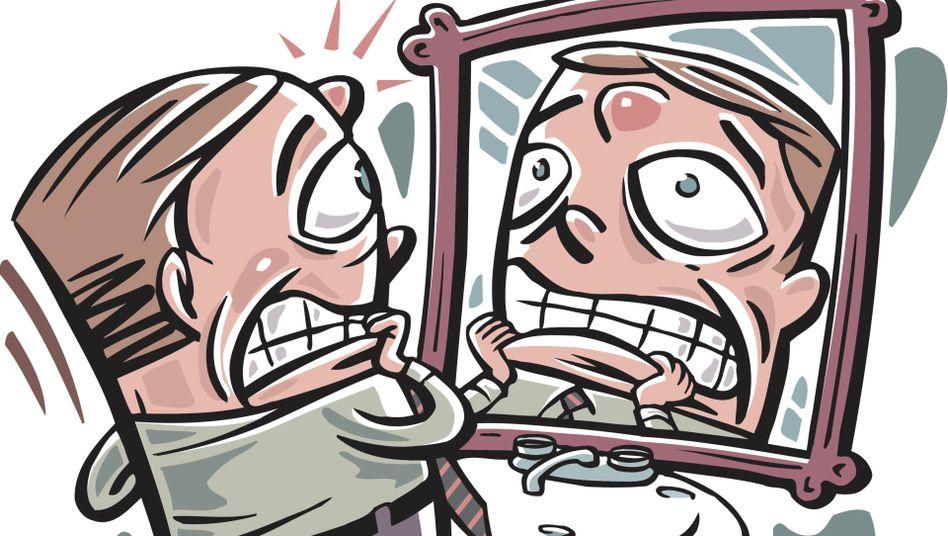 Schlechte Überraschung vor dem Spiegel: Pickel sprießen oft über Nacht