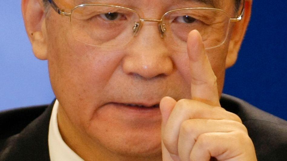 Chinas Regierungschef Wen Jiabao: Konjunkturprogramme nicht voreilig abbrechen