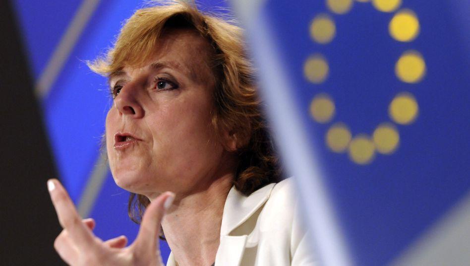 EU-Kommissarin Connie Hedegaard: USA sollen sich zu Reduktionszielen bekennen